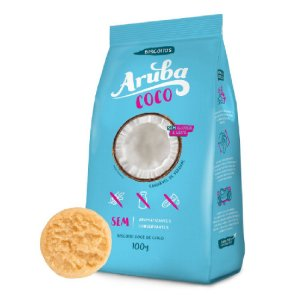 Aruba - Biscoito Coco sem Glúten 100g