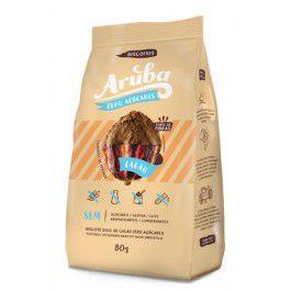 Aruba - Biscoito Sabor Chocolate 80g Zero