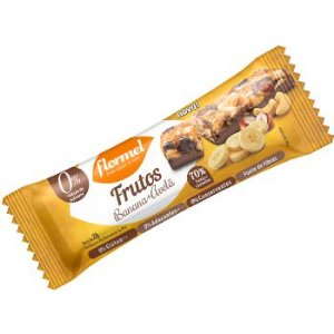 Barra Banana Avelã Chocolate Zero Flormel