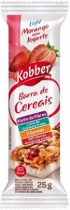 Barra de Cereal Morango Iogurte Kobber