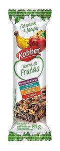 Barra de Frutas Banana e Maçã Kobber
