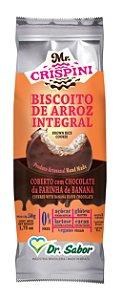 Biscoito de Arroz Integral Crispini