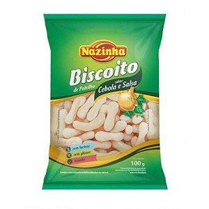Biscoito de Polvilho - Cebola e Salsa