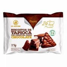 Biscoito de Tapioca c/ Chocolate