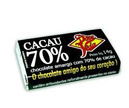 Chocolate Amargo Cacau 70% 14g