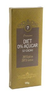 Chocolate da Ilha Diet 100g