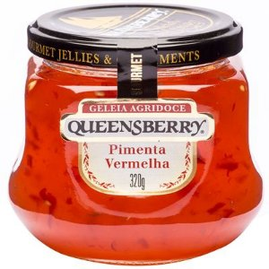Geleia de Pimenta Vermelha 320g Queensberry