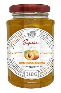 Geleia Superbom Damasco c/ Pedaços 310g