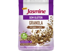 Granola s/ Glúten Castanhas e Cacau 250g