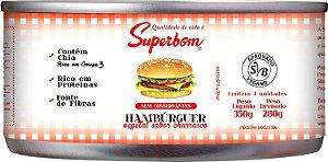 Hambúrguer Vegetal Churrasco Superbom 350g