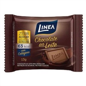 Linea - Chocolate Ao Leite Zero 13g