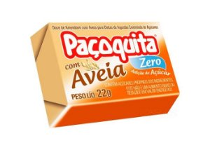 Paçoquita c/ Aveia Zero