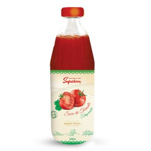 Suco Integral Tomate Temperado Superbom 500ml