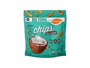 Chips de Coco Flormel sem Açucar