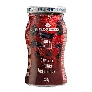 Geleia de Frutas Vermelhas 100% Fruta Queensberry