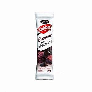 Barra de Cereal Kobber de Brownie c/ Chocolate