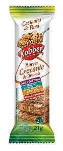 Barra de Cereal Kobber Crocante de Granola Castanha do Pará