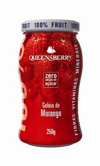 Geleia de Morango 100% Fruta Queensberry