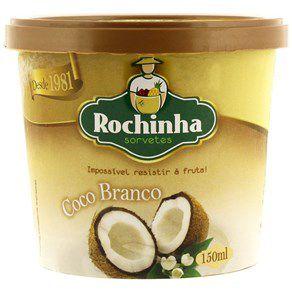Sorvete de Massa Coco Branco 150ml