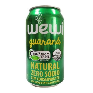 Wewi Guaraná Organico Lata 350ml
