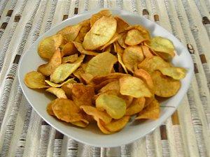 Chips de Batata Doce Laranja