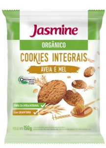 Cookie Orgân Aveia e Mel (Jasmine) 150g