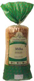 Pão Integral de Milho- Nutri-Vida