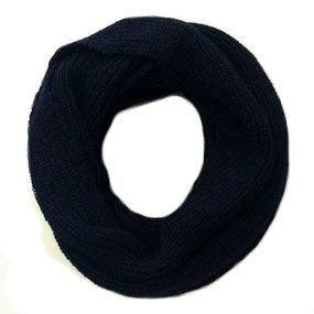 Golas de tricô azul marinho