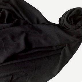 Pashmina LeLi Corrales preta - feminina/masculina