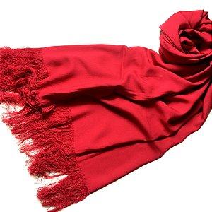 Pashmina LeLi Corrales vermelha