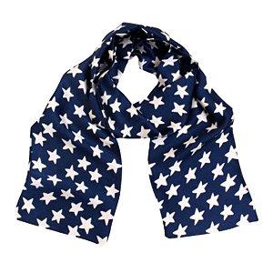 Echarpe gravata estrelas