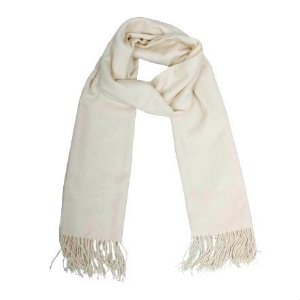 Pashmina indiana off-white