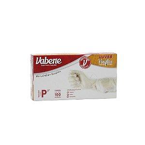 Luva Vabene Viniflex Transparente Tamanho P Caixa C/ 100 Unidades