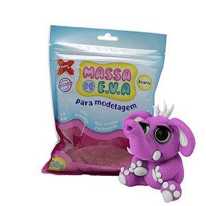Massa de Eva - Artesanato Make+ Pink - 50g