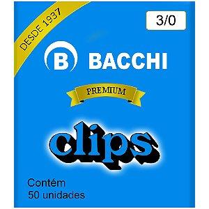 Clips Galvanizado Bacchi 3/0 50 uni Premium