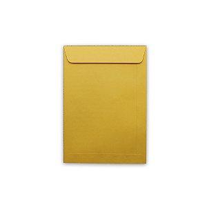 Envelope Saco Papel Kraft Ouro 162X229 80G Scrity