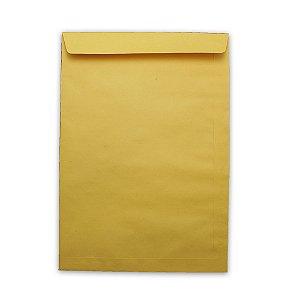 Envelope Saco Papel Kraft Ouro 229X324 80G Scrity