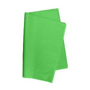 Papel De Seda Verde Claro 48x60cm 20g Pacote C/ 100 Unidades V.M.P