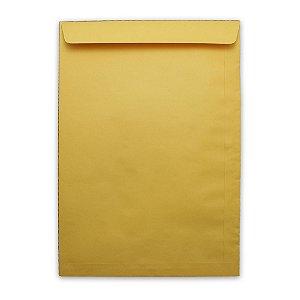 Envelope Saco Papel Kraft Ouro 240X340 80G Scrity