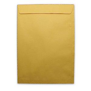 Envelope Saco Papel Kraft Ouro 250X353 80G Scrity