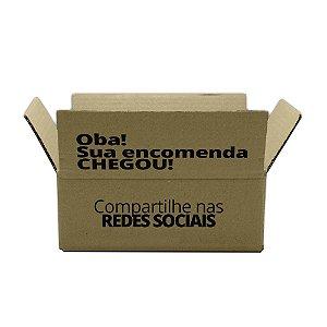 Caixas de Papelão Personalizada para E-commerce 16x11x06 Cm – Personalizamos a Caixa Completa.