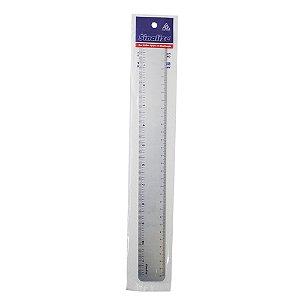 Régua de Aço Inox Sinalize - 30cm