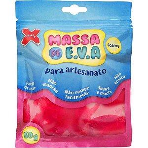 Massa de Eva - Artesanato Make+ Vermelho - 50g