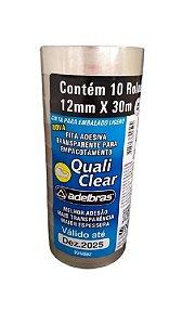 Fita adesiva Quali Clear Transparente 12mmx30m