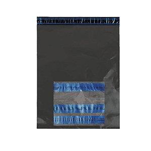 Envelope Segurança Cinza Sem Bolha 70x60 + Saco Canguru AWB 10x12