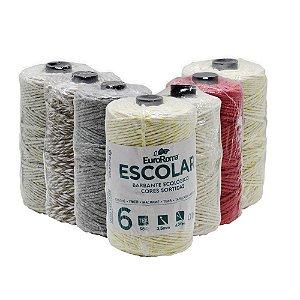 Barbante EuroRoma colorido 100g 4/6 Fios - Sortidos