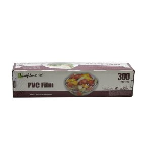 Bobina Filme PVC Lusafilm R105 Serrilha 280mmx300m