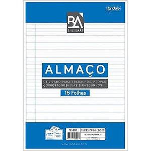 Papel Almaço - Basic Art C/Pauta Margem C/16f Jandaia