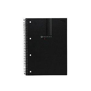 Caderno especial Organizer Executivo Preto 80fls. - Tilibra