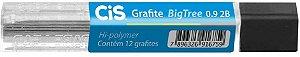 Grafite (0,9 mm) 2b C/12minas Bigtree - Sertic